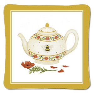 Alice's Cottage Single Spiced Mug Mat - Bee Teapot