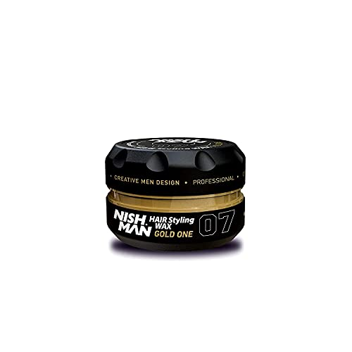 NISHMAN 07 - Cera per capelli Gold One - profumo da uomo