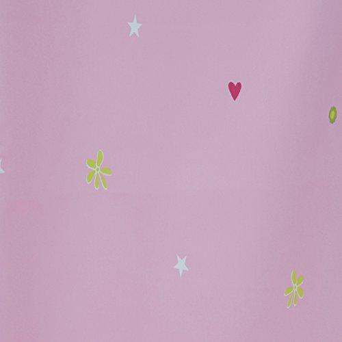 Dekostoff Gardinenstoff Vorhangstoff Meterware für Gardinen, Vorhänge, Kissen, etc. - Blickdicht Girls Dreams Kinder Bunt