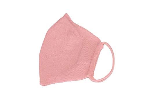 和紙ニットマスク 日本製【抗菌 キシリトール加工】洗える 夏マスク (ピンク)