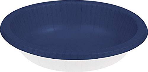 Creative Converting Paper Bowls 20oz 20/Pkg-Navy
