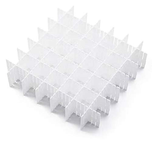JSF DIY Schubladen-Organizer| Verstellbare Schreibtisch Organizer Kunststoff| 12er-Set...