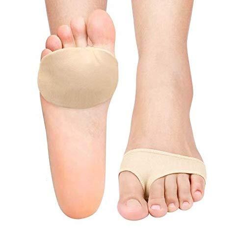 DOACT Almohadillas metatarsianas para mujeres y hombres, Almohadillas acolchadas de bola de pie, Plantillas de apoyo para el antepié para el neuroma de Morton, Callo, Metatarsalgie, Dolor