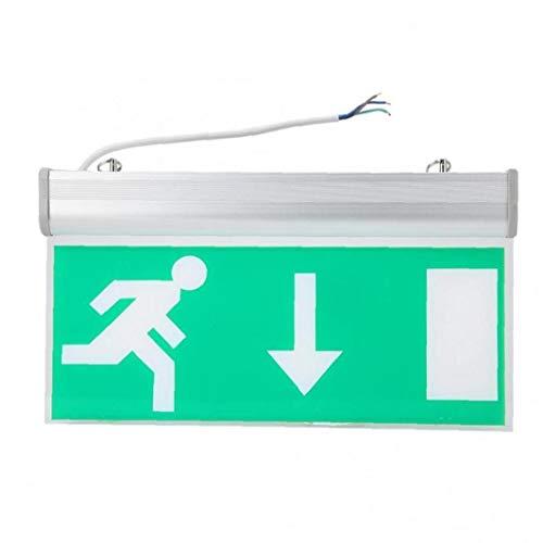 Acryl Led Beleuchtung Notausgang-Zeichen Sicherheit Evakuierungsanzeigelampe 110V-220V für Hotel Library