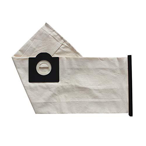 Xinchangda Bolsas de polvo fuertes para Karcher NT20 de repuesto para aspiradora lavable de tela con filtro de polvo (1 unidad)