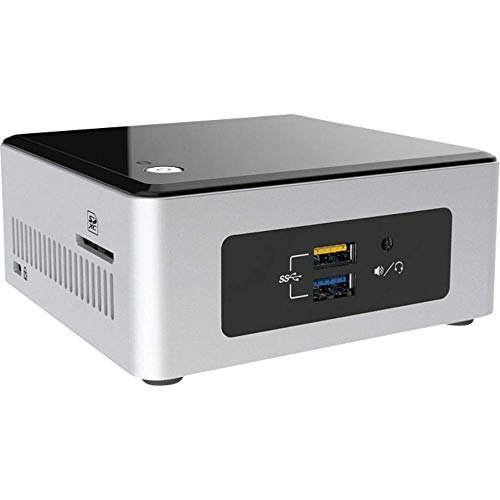 Intel Nuc Mini Komplett PC, Intel Quad Core 4 x 2,40 GHz, 8 GB RAM, 256 GB SSD, USB 3.0, HDMI, Intel HD Grafik, 3 Jahre Herstellergarantie, Windows 10 Pro