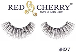 #107 Strip False Eyelashes by Red Cherry (6 Pairs) by Red Cherry