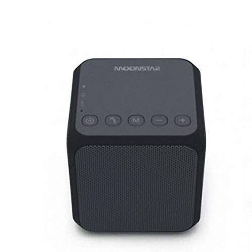 ZSTY Cubo de Rubik Bluetooth Altavoz, Tarjeta inalámbrica Mini Altavoz portátil al Aire Libre Altavoz, Smartphones, tabletas, Ordenadores portátiles y escritorios,Gray