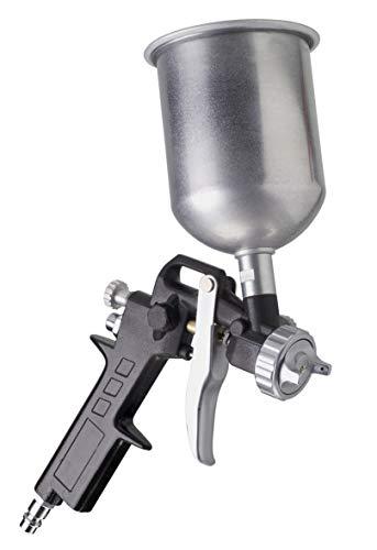 FERM Farbspritzpistole - Fließbecher - 400cc - 4,5 bis 6 bar