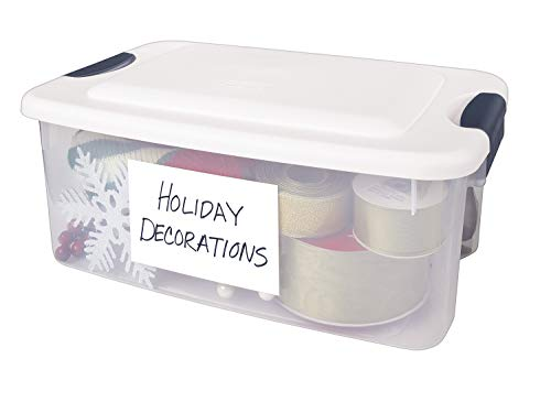 """AVERY Removable Print or Write 4"""" x 6"""" Labels -- Great for Home Organization Projects, Pack of 40 White Labels (5454)"""