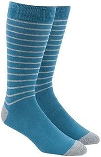 The Tie Bar Woodland Stripe Men's Cotton Blend Dress Socks
