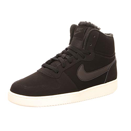 Nike INTERNATIONAL EBERNON MID SE,Black/Black-SAI Größe 46.5 EU Black/Black-SAIL