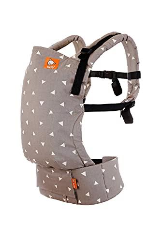 Tula Free-to-Grow TBCA7G79 Sleepy Dust - Portabebé configurable en anchura y altura para bebés de 3,2 a 20,4 kg sin necesidad de un cojín bebé