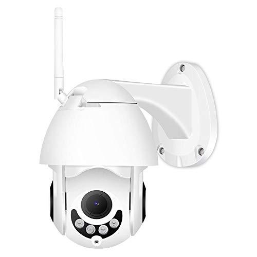 Domybest - Cámara IP Exterior Impermeable WiFi BESDER XMP200 1080P 2 MP cámara de Seguridad IR PTZ