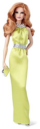 Barbie - Muñeca en Vestido, Color Amarillo (Mattel BDH26)