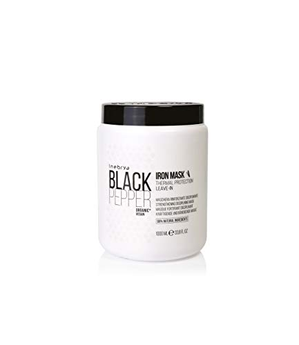 INEBRYA Black Pepper Iron Mask 1000 ML Masque durcisseur disciplinante