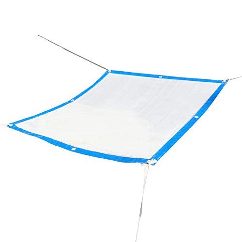 IDWOI regendicht dikker transparant dekzeil grondzeil hoezen heldere tent kunststof plaat PVC duurzaam buiten