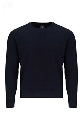 Kitaro Sweat-Shirt FELPA, Couleur: Bleu foncé, Taille: XXL