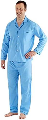 Harvey James Pijamas Largos de algodón Poliester Hombre: Amazon.es: Ropa y accesorios