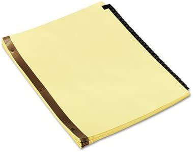 Max 79% OFF Leather-Look Mylar Tab Dividers 31 Letter Black Tabs Numbered 70% OFF Outlet
