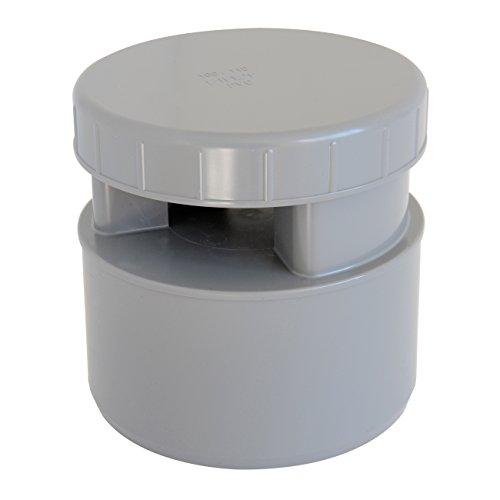 First Plast AMG100 ventilator, membraan, grijs, diameter 100-110 mm