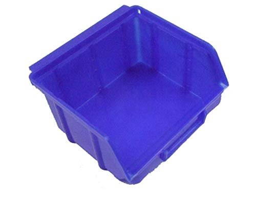 25 blaue Stapelboxen Gr. 1