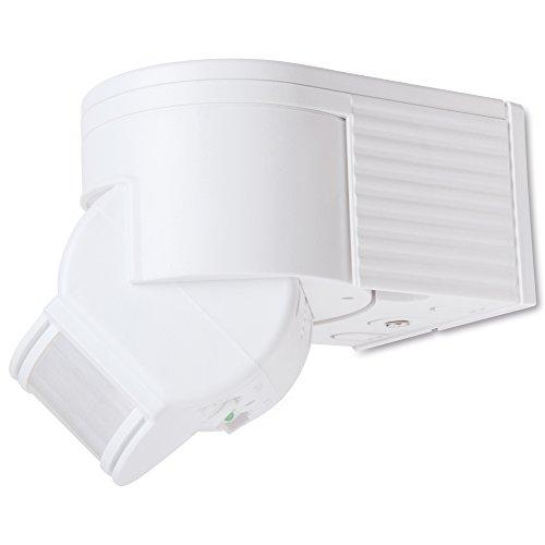sonero IMS030 Infrarot-Bewegungsmelder - Innen- / Auߟenmontage, Schutzklasse: IP44, 180° / 12m Arbeitsfeld, weiߟ (1 Stück)