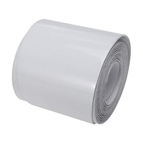 Extaum Protección del riel de la Tabla de Surf - 83 '' / 75 '' Cinta de protección de la Tabla de Sup Blanca Película Protectora del riel de la Tabla de Surf