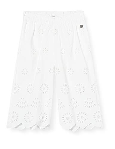Pepe Jeans Laura Pantaloni, Bianco (802optic White 802), 10-11 Anni (Taglia Produttore: 10) Bambina