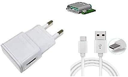 Theoutlettablet® Cargador de Pared con conexión Type-C - Charger Compatible con Smartphone Xiaomi (Comprobar Modelo Compatible Dentro del Anuncio) Blanco