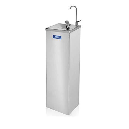 CANALETAS - Fuente de Agua refrigerada de Red. Acabado en ACERO INOXIDABLE. Sistema de filtración incorporado para mejorar la calidad del agua. Depósito de Agua fría: 4.5L. Potencia 200W