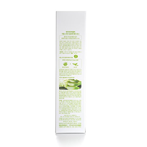 Nature Republic Real Squeeze Aloe Vera Toner, 150 ml / 5.07 Oz