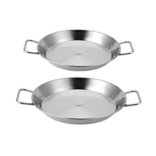 wok Acero inoxidable sin palan mar marisco fritura olla wok queso cocina cocina cocina cocina utensilios de cocina wok (Color : A)