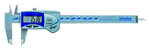 Tesa TES00539391 Valueline IP67 Digitaler Messschieber, 0 mm - 150 mm