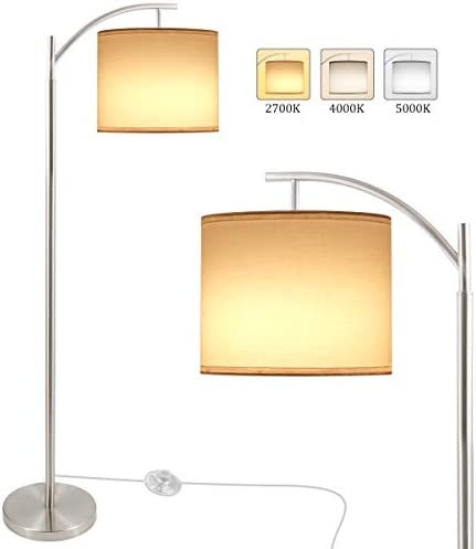 Floor Lamp LED Standing Lamp with 3 Color Temperatures Modern Reading Floor Lamp with 9W 810LM product image