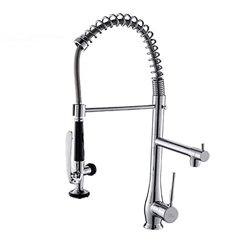 BALLYE Drinking Water Filter Tap Cold And Hot Spring Tube Faucet Single Rotating Double Grooved Kitchen
