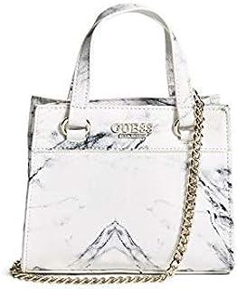 Guess Women's Taylor Mini Satchel/Cross-body Bag, Leather Material (18GF-313) - Multicolor
