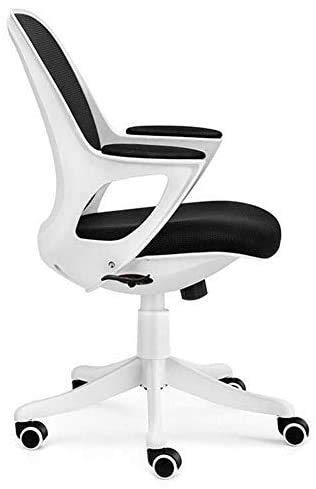 Elegante silla oficina, silla giratoria Sillas de recepción   Cómodas sillas de escritorio para oficina con soporte lumbar   Silla de trabajo moderna de escritorio de computadora   Adecuado para sala