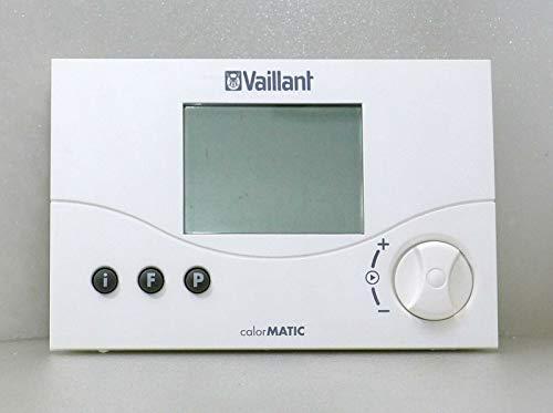 VAILLANT Regulador de temperatura ambiente calorMATIC 330 con temporizador digital y programación semanal, potencia 24 V, repuesto sin usar