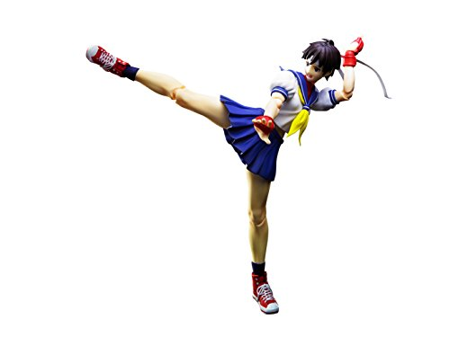 TAMASHII NATIONS Bandai S.H.Figuarts Sakura Kasugano Street Fighter Action Figure, Multi-Colored, 8' (BAN23895)
