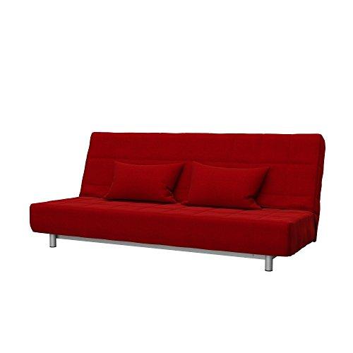 Soferia Fodera Extra Ikea BEDDINGE Divano Letto a 3 posti, Tessuto Elegance Red
