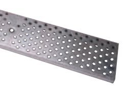Zurn Z884 P4-PG Galvanized Steel Perforated Class A Trench Drain Grate
