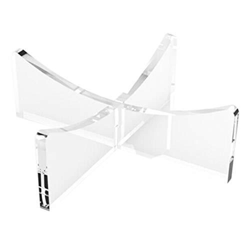 N/A. Soporte transparente para decoración de pared del hogar, 4 mm, para decoración de pared, no se cae fácilmente.