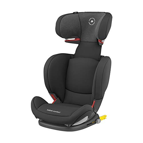 Bébé Confort Rodifix Airprotect, Siège-auto Groupe 2/3 (15 à 36 kg), ISOFIX, de 3,5 à 12 ans, Authentic Black