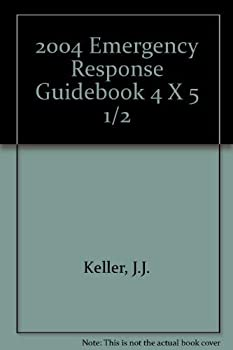 Paperback 2004 Emergency Response Guidebook 4 X 5 1/2 Book
