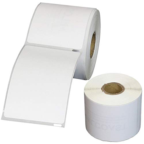 """Milcoast Premium 2-5/16"""" x 4"""" Thermal Shipping Labels 30256 - Compatible with DYMO Labelwriter Printer - White, 2 Pack / 300 Labels Per Roll"""