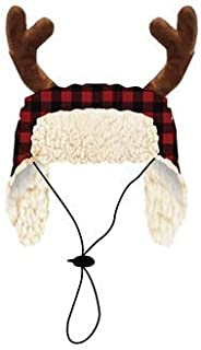 Huxley & Kent Buffalo Check Pet Accessories (Hat, Large)