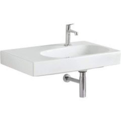 Keramag Citterio Waschtisch 500546011, ohne Überlauf, Ablagefläche Links, 750x500mm, Weiss mit KeraTect