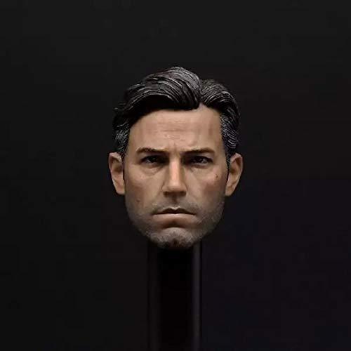 ZSMD Eleven 1/6 escala Big Ben Bruce Wayne Batman Robin Ben Affleck Joseph Head Carving Headplay F 12' Action Figure Body