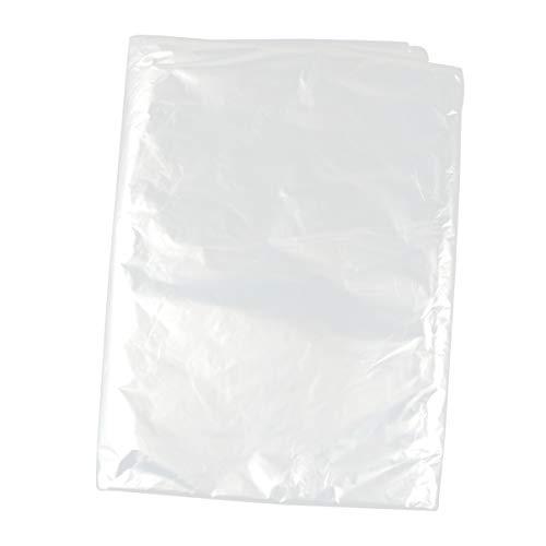 Hemoton 30 Piezas Bolsas de Tintorería de Plástico Transparente Ropa Traje Fundas para Ropa Tintorería Ropa Cubierta Bolsas Bolsas de Almacenamiento 60X150 Cm